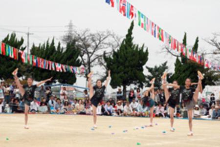 奈良文化幼稚園の運動会に友情出演しました