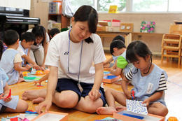 幼稚園実習を行ないました