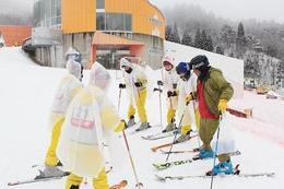 スポーツ特進コース二年生がスキーに行ってきました!