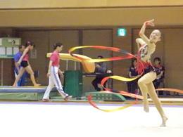 第72回国体の新体操奈良県予選会に出場しました