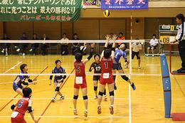 バレーボール部が県大会で準優勝しました
