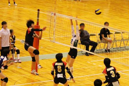 奈良県私立高等学校バレーボール大会に出場しました!