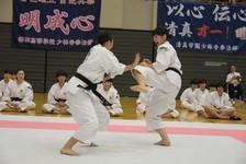 平成29年度全国高等学校総合体育大会少林寺拳法競技大会 第44回全国高等学校少林寺拳法大会に出場しました