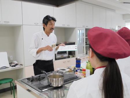 調理実習を行いました