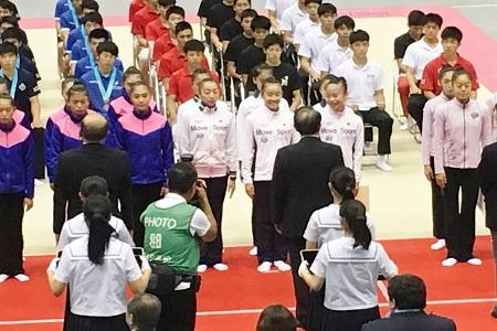 新体操部がインターハイ団体第5位入賞!!