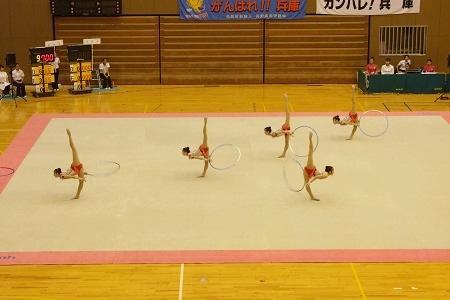 新体操部が国体近畿ブロック大会で三位に!