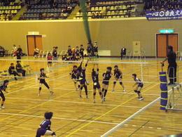 バレーボール部が県総体で準優勝しました