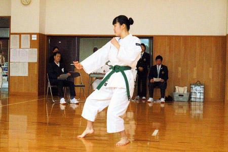 少林寺拳法部が選抜県予選三種目で優勝!