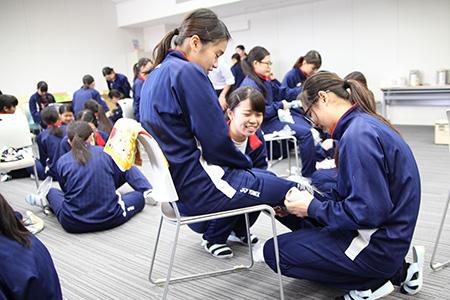 奈良マラソン救護の事前学習を行ないました