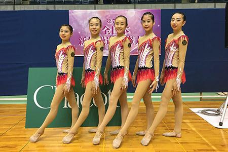 新体操部がALLJAPAN全日本新体操選手権大会で活躍しました!
