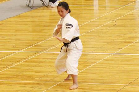 少林寺拳法部が全部門で全国大会への快挙