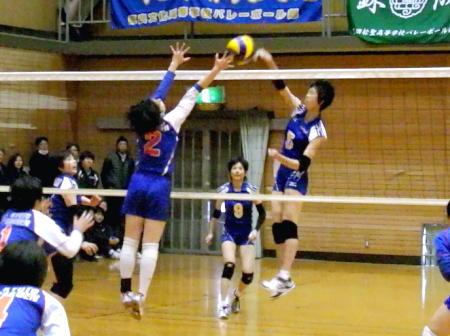 バレーボール部が近畿私学大会に出場しました
