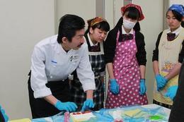 JAならけんロールケーキ作りで講師補助を務めました!