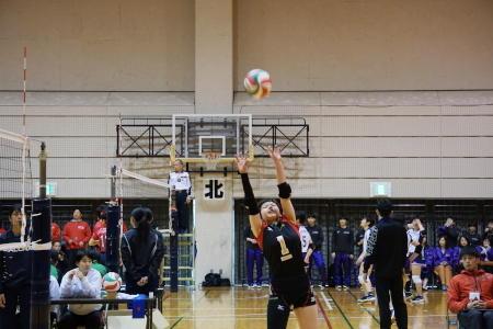 バレーボール部が全国私学大会で活躍しました!