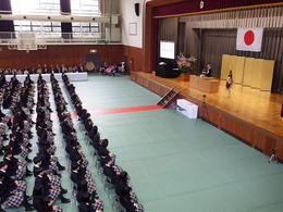 平成30年度入学式を挙行しました