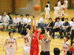 バスケット優勝しました