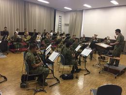 吹奏楽部が文化祭に向けて自衛隊音楽隊と合同練習!!