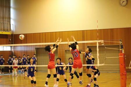 奈良県高校総体バレーボール 新チームで臨んで善戦!!