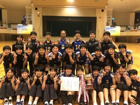第105回奈良県私学バレーボール大会 優勝!!