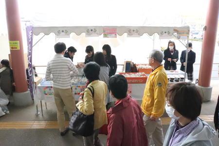 JAなら まほろばキッチン橿原の収穫祭に参加しました