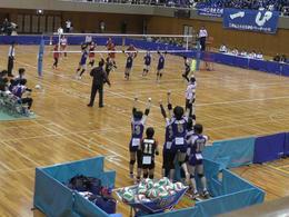 バレーボール部が悲願の春高バレー奈良県予選で優勝しました