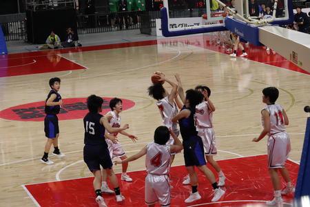 バスケットボール部 ウインターカップで健闘!