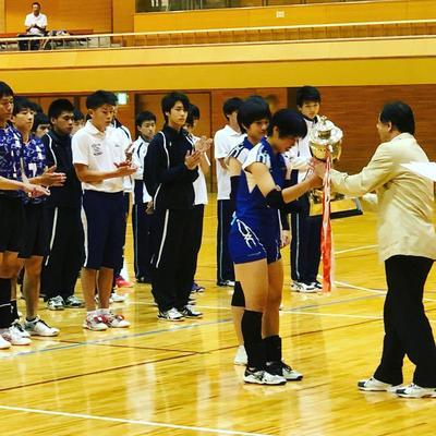 バレーボール部 インターハイ奈良県予選で優勝しました!!