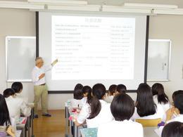 衛生看護専攻科の治療食事前講義を行いました