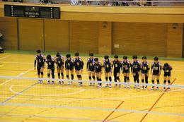 バレーボール部が県総体Bブロックで優勝しました!
