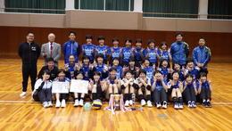 バレーボール部が春高バレー奈良県予選で2年連続優勝しました
