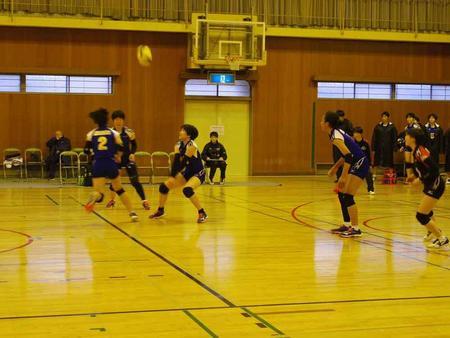 バレーボール部が近畿私立高等学校バレーボール選手権大会に出場しました