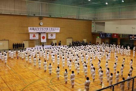 《少林寺拳法部》近畿大会で四人の拳士が健闘しました
