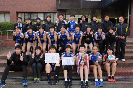 春高バレー奈良県予選3-0でストレート勝ち!3連覇達成!!