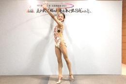 インターハイ2021新体操 中村知花さんが女子個人総合で優勝しました!!
